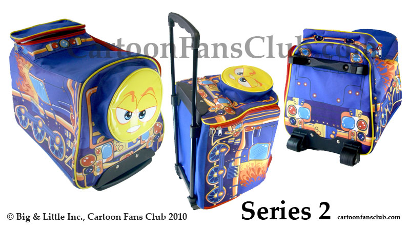 Series 2 - Newest Addition to the Locomotive Train Luggage Series