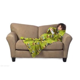 The Spongebob blanket with sleeves is cozy enough to cuddle up in.