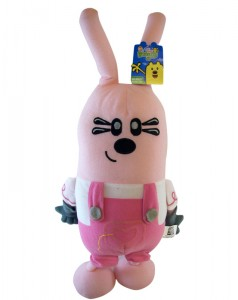 Check out this soft and cuddly Widget plush toy from the show Wow Wow Wubbzy!